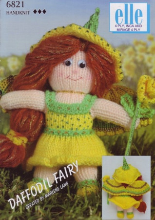 Elle Mirage 4PLY - Inca & 4 PLY Daffodil Fairy by Marlene Lang 6821