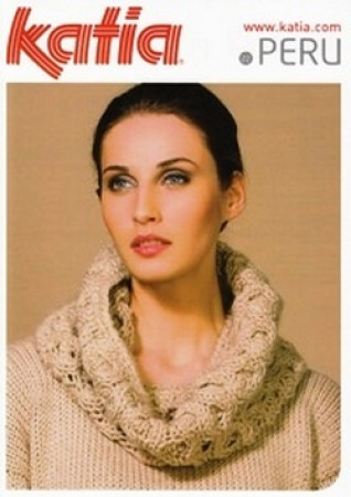 Knitting Crochet Patterns Accessories Katia Ladies Neck