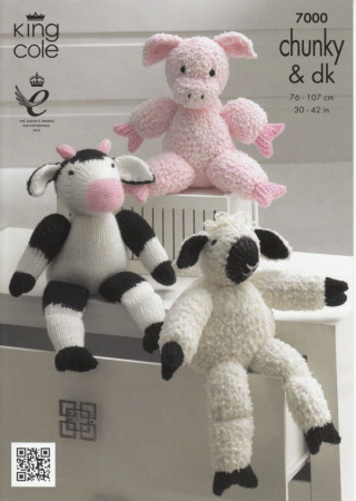 Toy  Pattern - Pig- Sheep- Cow  7000