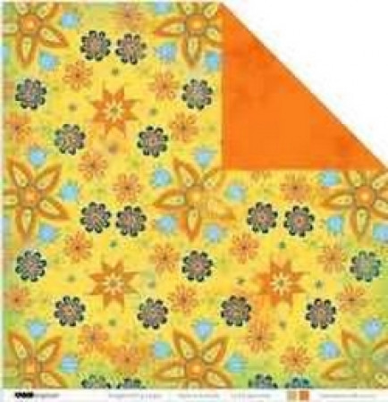 Kaisercraft - 12 x12 - Double Sided - Scrapbook Paper - Garden Party Collection - Springtime