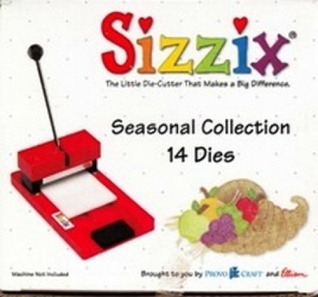 ProvoCraft - Sizzix - Seasonal Collection - 14 Dies