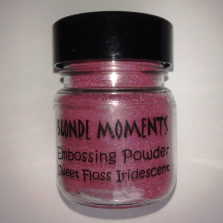 Blonde Moments Embossing Powder - Sweet Floss Iridescent