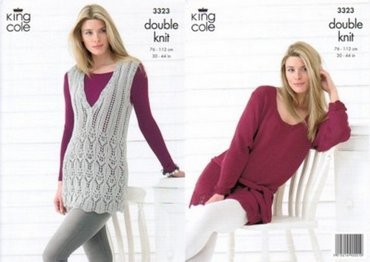 Knitting - Crochet Patterns & Accessories - King Cole Ladies Bamboo ...