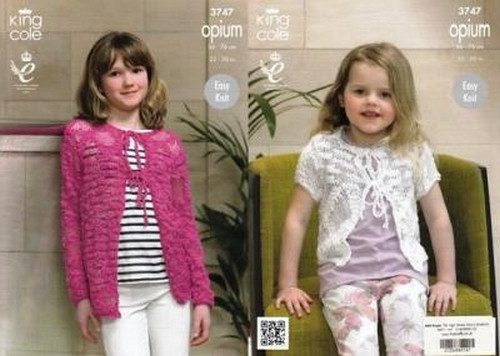ce2bc02465e7 Knitting - Crochet Patterns   Accessories - King Cole Opium - Girls ...