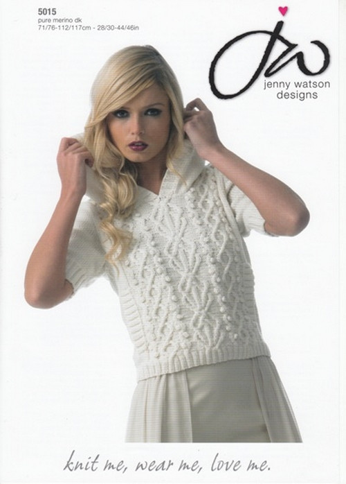 ddefcb91d Knitting - Crochet Patterns   Accessories - Ladies Pure Merino Hooded  sweater DK Pattern 5015 28