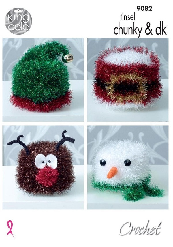 Knitting - Crochet Patterns & Accessories - King Cole Tinsel Chunky ...
