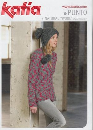 f5c13b46d03 Knitting - Crochet Patterns   Accessories - Katia - Ladies Jumper ...