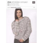 Rico Knitting Idea Compact Pattern - Ladies' Chunky Sweater 024 91-117cm