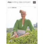 Rico Knitting Idea Compact Pattern - Ladies' Aran Cable Cardigan 070 76cm-102cm