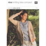 Rico Knitting Idea Compact Pattern - Ladies' Waterfall Cardigan 079 76cm-102cm