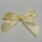 Pre-Made Bows - Scatter Bows - 15mm Yellow (Pack of 2)