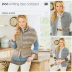 Knitting Idea Compact Pattern 177 - Gilets - 81 to 107cm