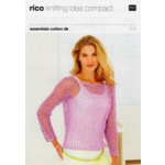 Knitting Idea Compact DK Pattern 223 - Sweaters - 81 to 107cm