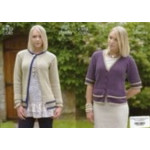 King Cole Ladies Chunky Jacket and Cardigan Pattern 3262 (81-44 cm)-D