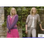 King Cole Ladies Chunky Cardigans Pattern 3265 (81-44 in) - D