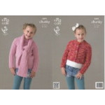 Chunky - 3591 Childs Cropped Cardigan - Sweater & Scarf - D
