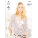 Opium - Ladies Scarf - Snoods - Poncho and Wrap 3685