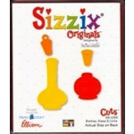 ProvoCraft - Sizzix - Die - Bottles - Glass & Corks