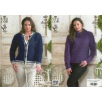 KC - Ladies' Super Chunky Sweater and Cardigan Pattern 3817 - 81 to112cm