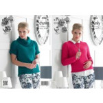Chunky Sweaters Pattern 4086 - 71 to 117cm (28 to 46ins)