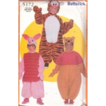 Butterick Pattern - Toddlers'/Children's Costume - Sizes S-L - 5172