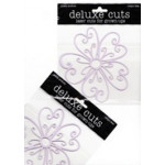Delux Designs - Deluxe Cuts - Flower-Whimsical - Lilac