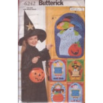 Butterick Pattern - Autumn Door Decorations - One Size - 6242
