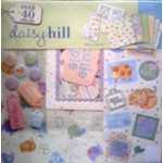"Daisy Hill - 12""x12"" Scrap Kit - Baby Polka Dot Pig"