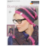 Boston- Boston Style - Woman's Cap and scarf with wrist warmers Pattern