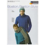 Boston- Boston Style - Men's and Boy's Sweaters- Scarf and Hat Pattern