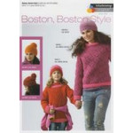 Boston - Boston Style - Girl's and Ladies' Sweaters - Hat and Top Pattern