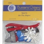 Buttons Galore & More - Buttons - Sports On The Slopes
