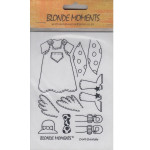 Blonde Moments Rubber Stamps - BM001 Doris Doolally