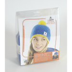 Myboshi - Beanie Hat Kit - Ocean Blue/Yellow