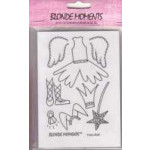 Blonde Moments Rubber Stamps - BM002 Fairy Nuff