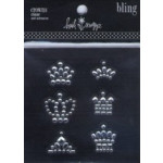 Heidi Swapp Bling - HS64231 Stick-on Crowns (Clear)