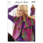 Monsoon - JB068 Ladies Waistcoat Pattern 81-107 cm (32-42 in)