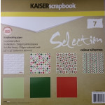 12 x12 Scrapbook Paper - 7 Pack - Selection - Christmas