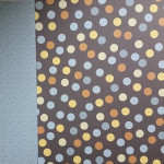 "Ki Memories - Double Sided Scrapbook Paper - 12x12"" - Pet Shop Spots"