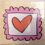 Katie & Co - Wooden Stamp - Love Post