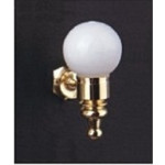 Maple Street - Wall mounted Globe light - ms2025 - 1:12 scale