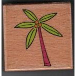 Katie & Co-Wooden Stamp-Palm Tree