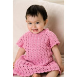 Patons Crochet Dress Pattern PBN0000-03542 (0-4years)