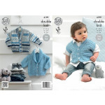 KC Cherish Baby DK Jackets and Waistcoat Pattern 4199 (0-7 yrs)
