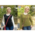 KC DK Ladies Slipover & Sweater 4264