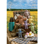 Teddy Bears' Picnic Toys Pattern 9008