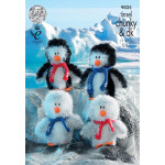 Tinsel Chunky Pattern - Tinsel Chunky Penguins - 9025