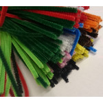 Bundle of Pipe Cleaners in Assorted Colours - 3mm Diameter