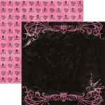 """12"""" x 12"""" Double-sided Paper - Pirate Princess - Ching Shih"""