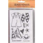 Blonde Moments Rubber Stamps - BM003 The Rusty Ranger